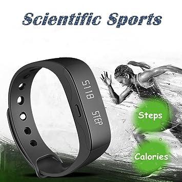 Pulsera deportiva Pulsera de pulsera inteligente resistente al agua, pulsera de reloj inteligente con sueño
