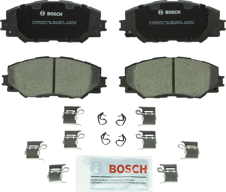 Front Ceramic Brake Pads HS250h Vibe Scion xB xD Corolla Matrix Prius V RAV4