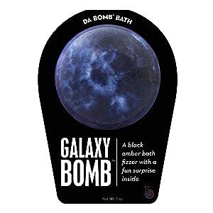 Da Bomb Galaxy Bath Bomb, Black