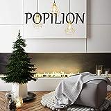 POPILION Vintage Simple Style Polygon Adjustable