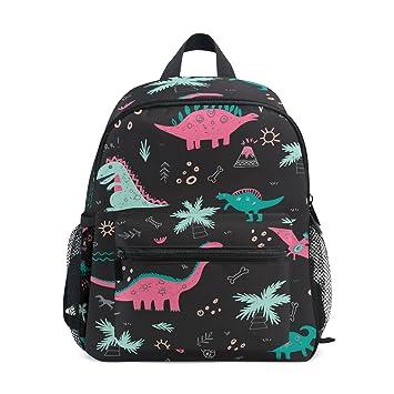 ISAOA 3D Printed Special Dinosaur Kids Backpacks Kindergarten Preschool Toddler