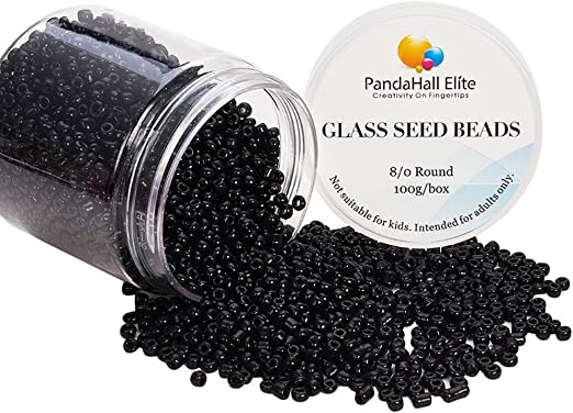 100g DARK RED OPAQUE GLASS SEED BEADS 11//0 2mm 8//0 3mm 6//0 4mm