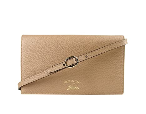 8293b37fb1e Gucci Swing Tan Leather Crossbody Clutch Wallet 368231 2762 at ...