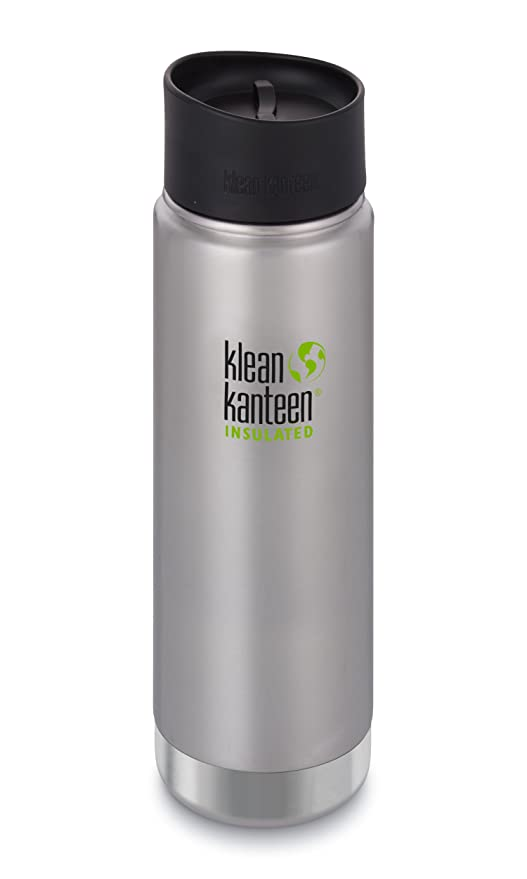 f4b350c14ba Klean Kanteen Wide Double Wall Vacuum Insulated Stainless Steel Coffee Mug  with Leak Proof Café Cap 2.0