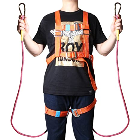 Peachy Amazon Com 3 Jokers Safety Comfort Full Body Safety Harness With Wiring 101 Archstreekradiomeanderfmnl