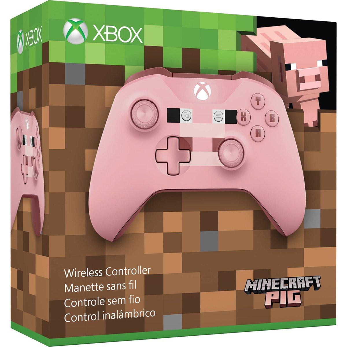 Amazon.com: Microsoft Xbox Wireless Controller - Minecraft Pig