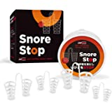 Snore Stopper Solution - Anti Snoring Nose Vents - Set of 4 Nasal Dilators - Natural Stop Snoring Devices - Reduce…
