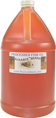 Processed Fish Oil – Half Gallon Sized Plastic Jug