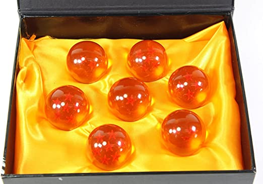 Dragon Ball Z 7 Stars Crystal Balls Set Collector Item Anime Lover Memorabilia