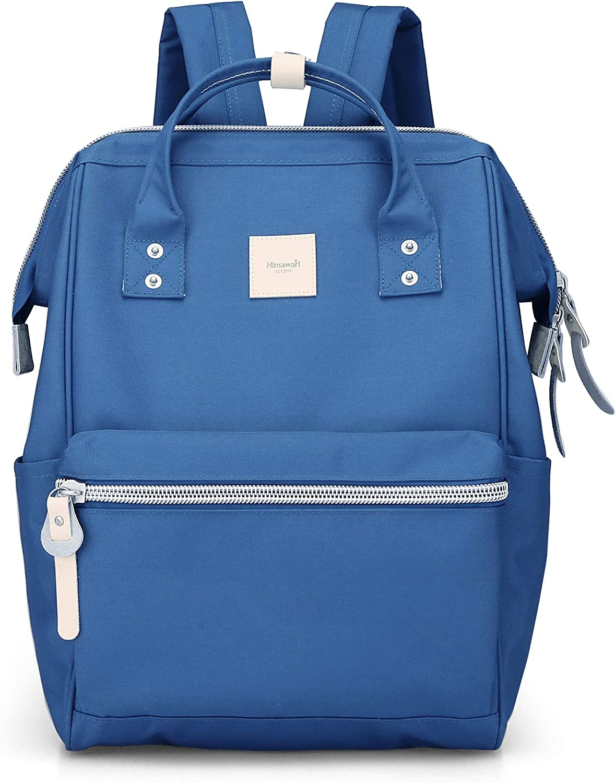Himawari Travel Backpack Spacious School Backpack Waterproof Doctor Bag Luggage for Women&Men, 15 Inch(1881-Royal blue)