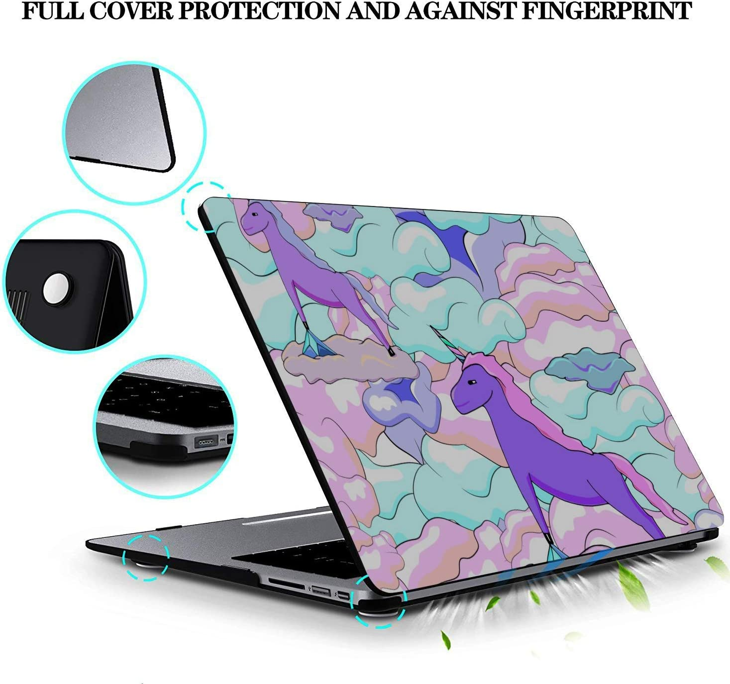 MacBook Air Laptop Case Serious Creative Fashion Painting Plastic Hard Shell Compatible Mac Air 11 Pro 13 15 MacBook Case Protection for MacBook 2016-2019 Version