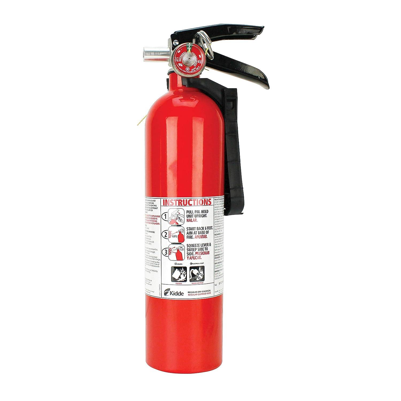 Kidde 466422K Fire Extinguisher 10-B:C Gauge, 14 1/4\