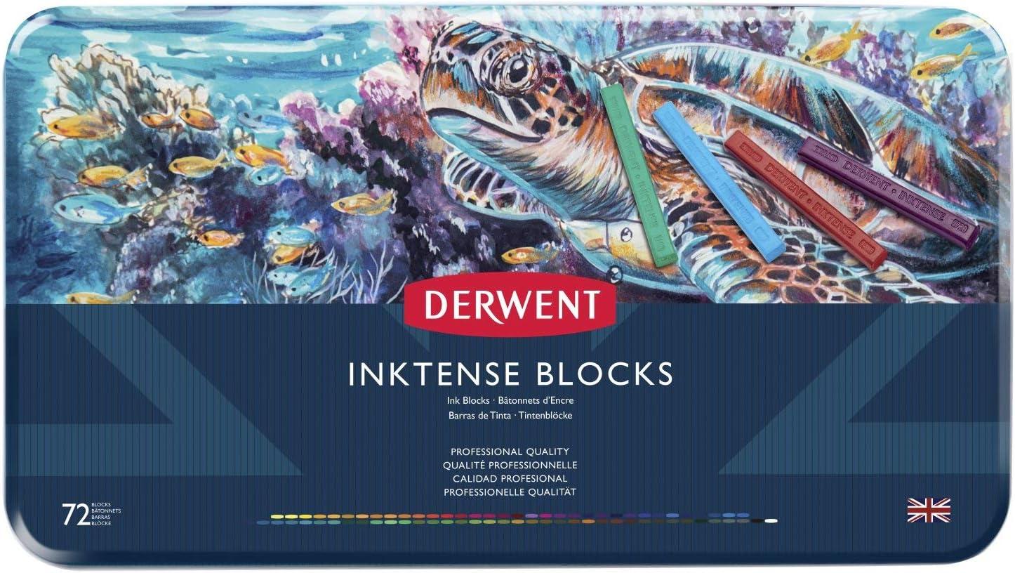 Inktense Blocks 72 Color Tin-