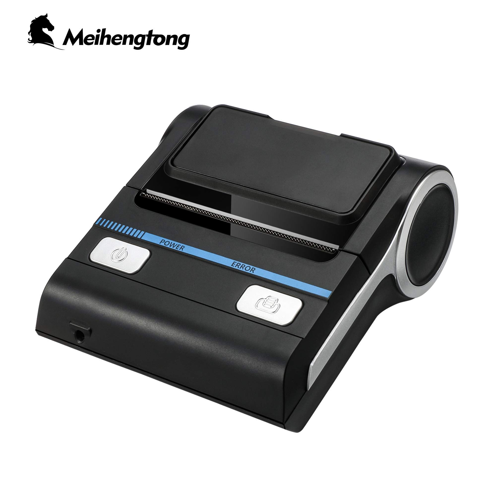 Meihengtong Bluetooth Receipt Printers Wireless Thermal Printer 80mm Compatible with Android/iOS/Windows System ESC/POS Print Commands Set for Office and Small Business (Receipt Printer) by Meihengtong