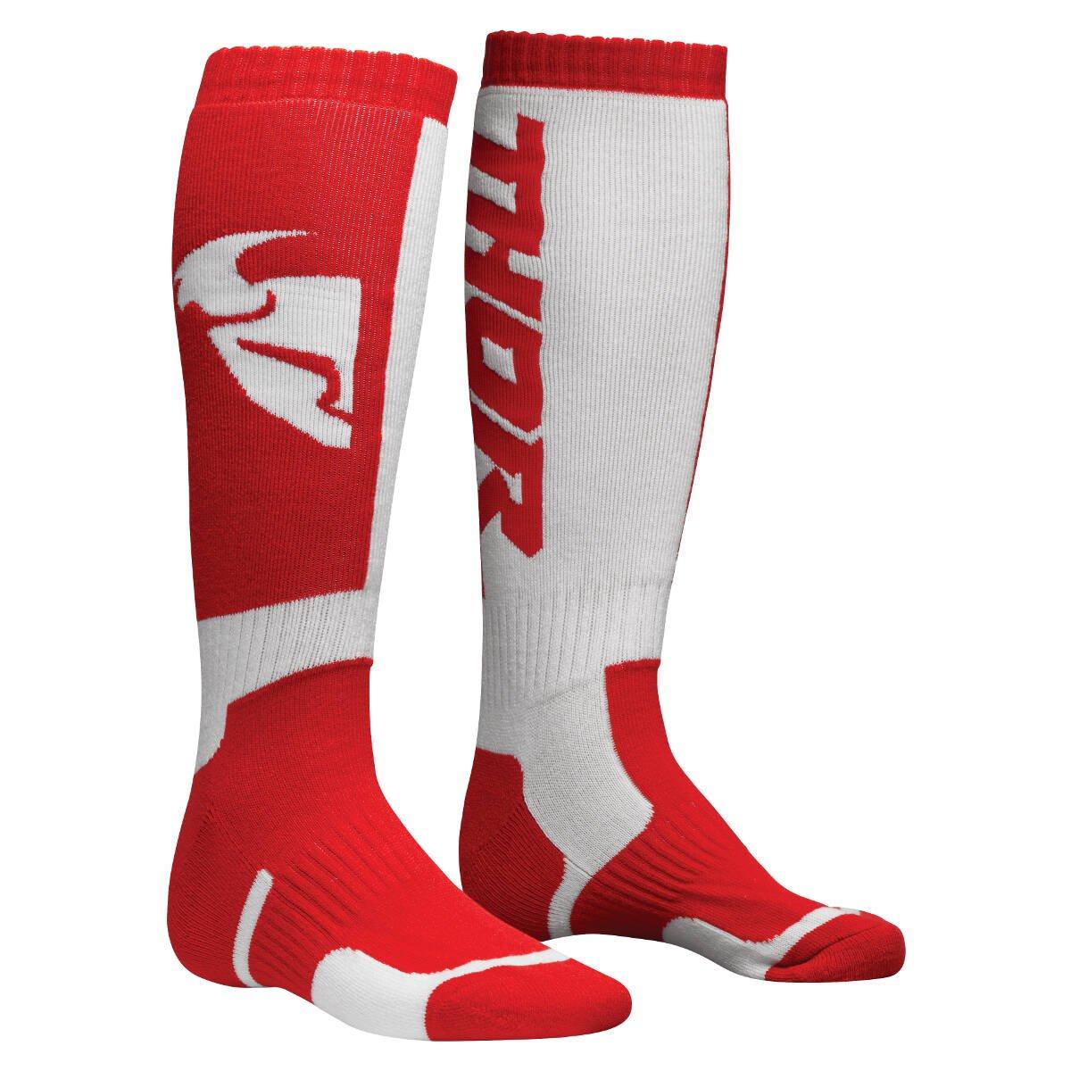 Thor Socken MX Rot/Weiß