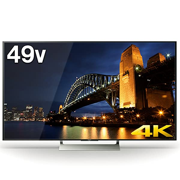 ソニー SONY 49V型 4K対応 液晶 テレビ ブラビア KJ-49X9000E (2017年モデル)