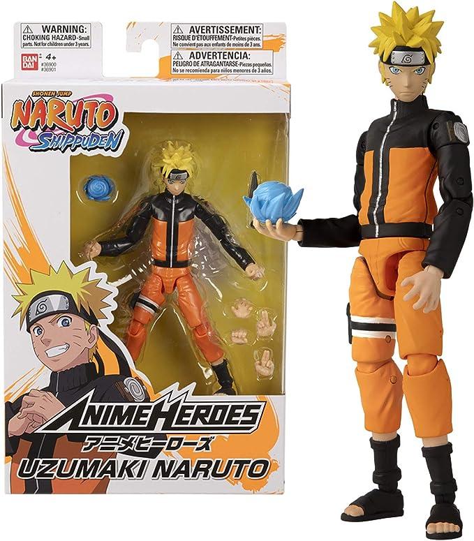 Anime Heroes - NARUTO Figura de acción (Bandai 36901): Amazon.es: Juguetes y juegos