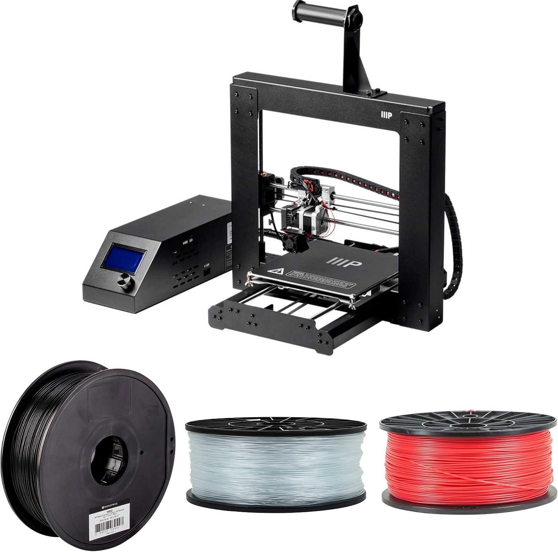 Monoprice Maker Select - Impresora 3D V2 (13860) con filamento de ...
