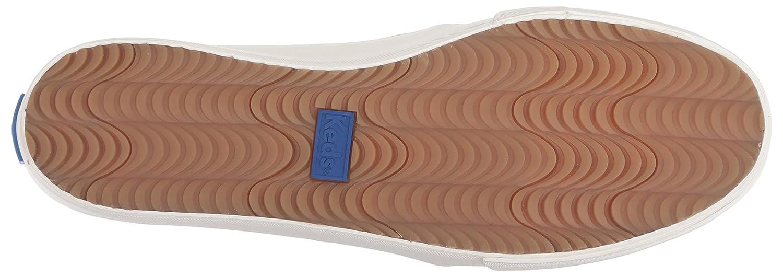 Keds Womens Double Decker Perf Suede Sneaker