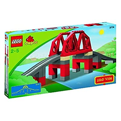 LEGO Duplo 3774 - Puente con vías de Tren [versión en inglés]: Juguetes y juegos