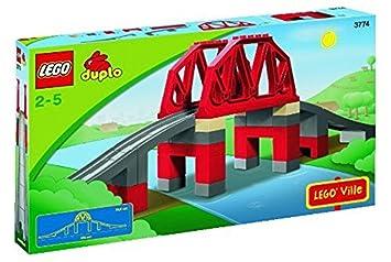 3774 günstig kaufen LEGO Duplo Eisenbahnbrücke