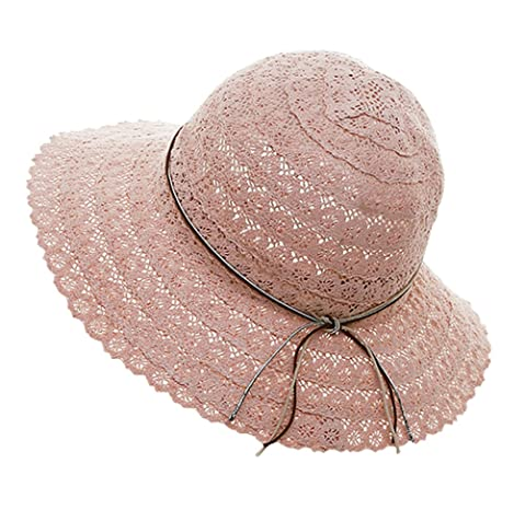 9ced49d5834 Urban CoCo Women s Wide Brim Caps Foldable Summer Beach Sun Straw Hats