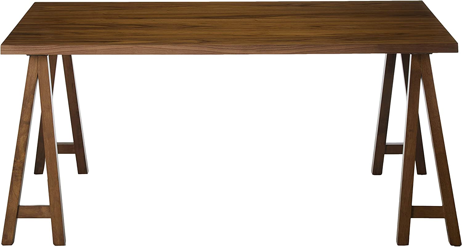 Christopher Knight Home Sabrina Farmhouse Wood Finish Dining Table Natural Walnut