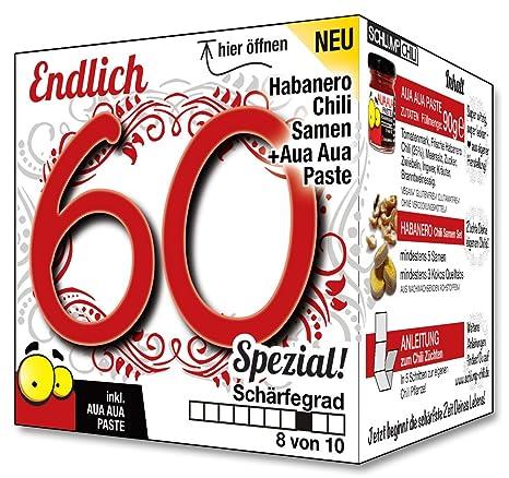 Endlich 60 Spezial Eine Tolle Geschenkidee Zum 60 Geburtstag