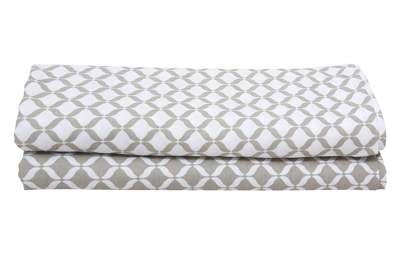 Motherhood Einschlag- und Mulltücher aus Baumwollflanell Musselin, Premium, 2 Stück, 80 x 120 cm, Beige Classics 2017