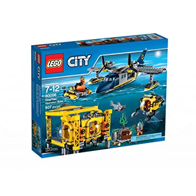 LEGO City Deep Sea Operation Base 60096: Toys & Games