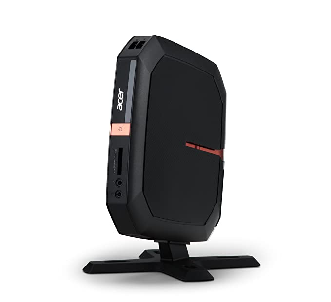 Acer Revo RL80-UR22 - Ordenador de sobremesa (64-bit, Unidad de disco duro, Intel Core i3-3xxx, Negro, Intel HD Graphics, Nettop): Amazon.es: Informática