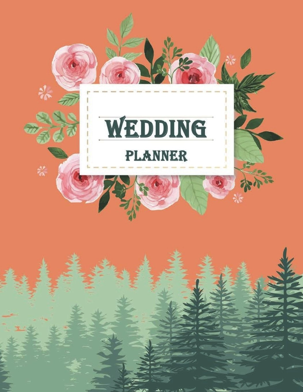 """Wedding planner: Guest Book, Wedding Checklist, Perfect Wedding Gift, Wedding Log, Wedding Planning Notebook 120 pages Large Print 8.5"""" x 11"""" pdf"""