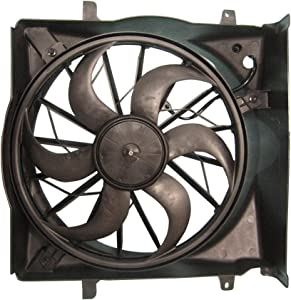 TYC 622690 Compatible with JEEP Liberty Replacement Cooling Fan Assembly