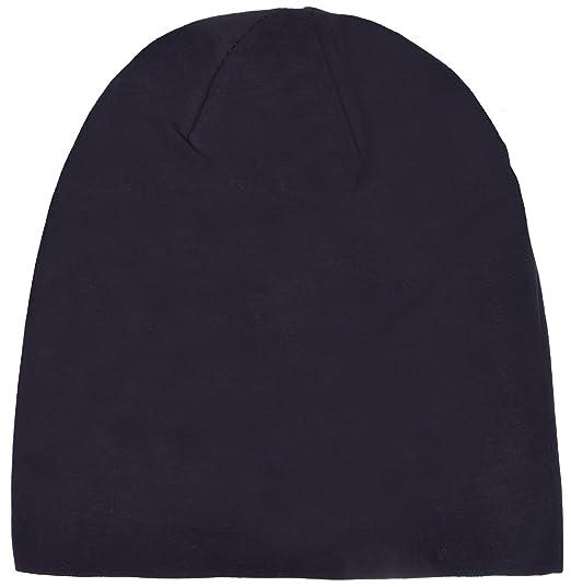 YJDS Women s Slouchy Sleep Cap Baggy Soft Cotton Beanie Hat Black at ... d02fb36c71b