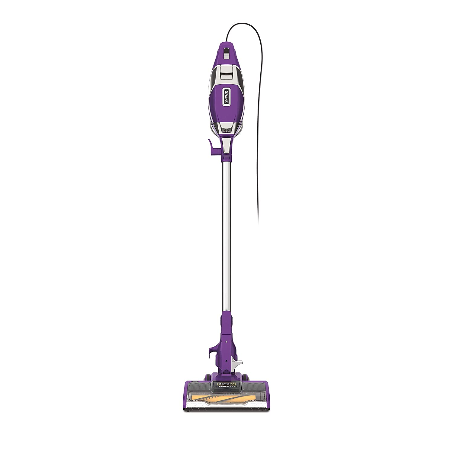 Shark Rocket Corded Ultra-Light Vacuum with Zero-M Anti-Hair Wrap Technology, XL Dust Cup, Hand Vacuum Mode, & Swivel Steering (ZS351), Plum Purple (Renewed)