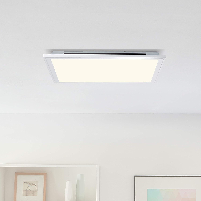Panel LED de techo con iluminación de fondo RGB, regulable