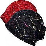 Womens Cotton Beanie Lace Turban Soft Sleep Cap Chemo Hats Fashion Slouchy  Hat 4e5a27a6ef35