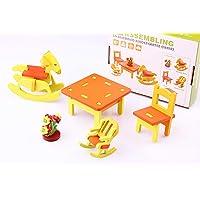Wooden Toys 3D Ahşap Maket Çocuk Bahçesi Takımı