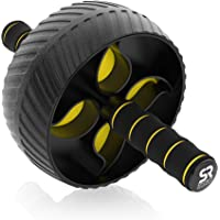 Deals on Sports Research Ab Wheel Roller w/Knee Pad