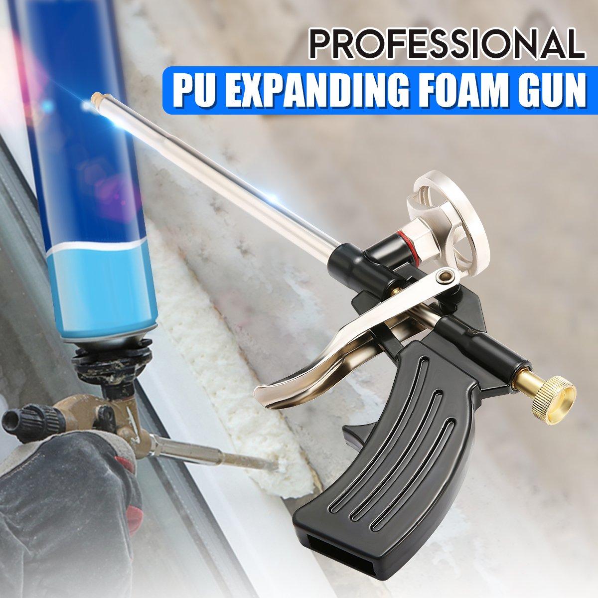 Pistola Espuma Poliuretano,GOCHANGE PU Espuma de Expansión Pistola de Calafateo/Cuerpo de Metal Spray Aplicador: Amazon.es: Bricolaje y herramientas