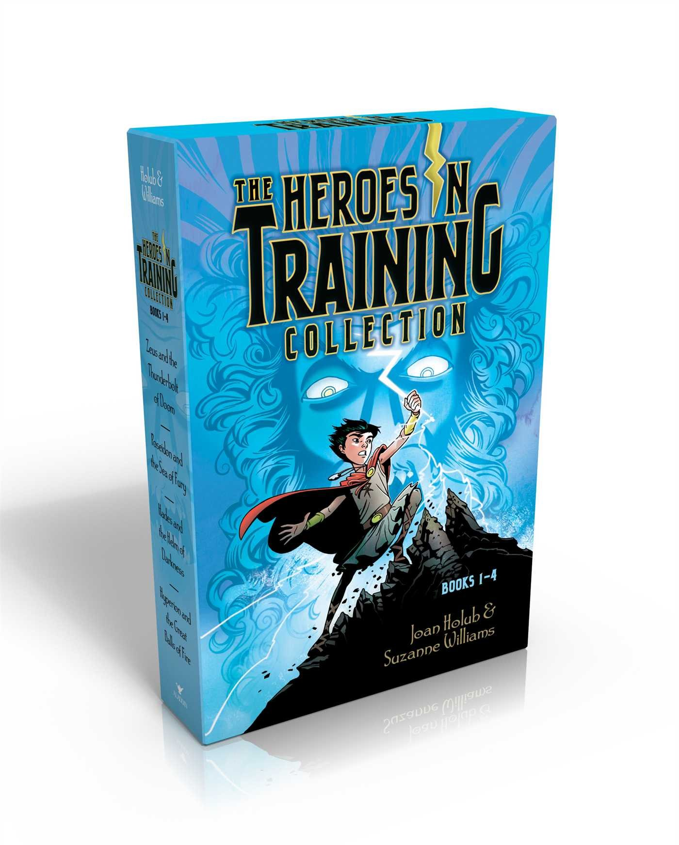 The Heroes In Training Collection Books 14: Zeus And The Thunderbolt Of  Doom; Poseidon And The Sea Of Fury; Hades And The Helm Of Darkness;  Hyperion And