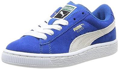 meilleur service 48142 0da7d Puma 355110, Baskets Basses garçon, Bleu (Snorkel Blue/White ...