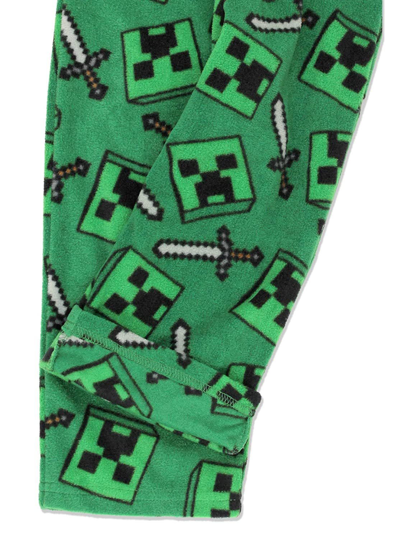 Minecraft Creeper Zombie Boys Lounge Pajama Pants