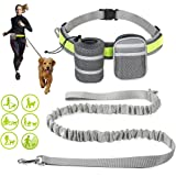 EDUPLINK Hands Free Retractable Dog Leash, Dog Running Leash 6 ft for 331Lb Pull, Dog Leash Belt Adjustable with…