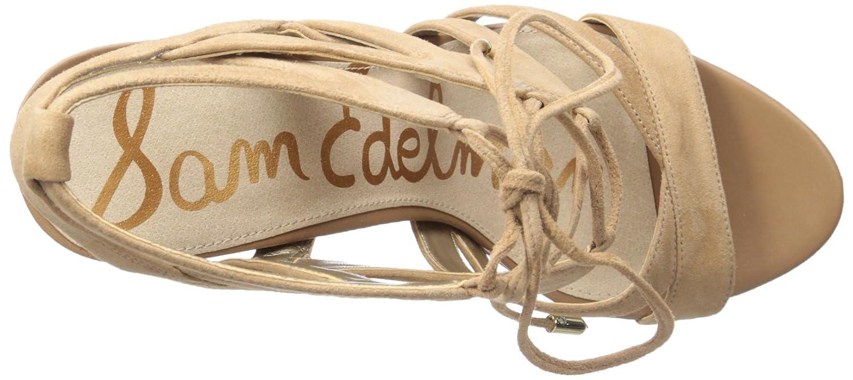Sam Edelman Sandalen Yardley Golden Wildleder Schwarz Golden Yardley Caramel 3a56d0