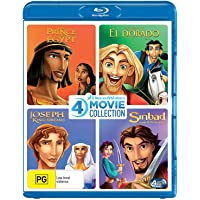 Dreamworks 4 Film Collection (The Prince of Egypt/Road to El Dorado/Joseph King of Dreams/Sinbad Legend of the Seven…