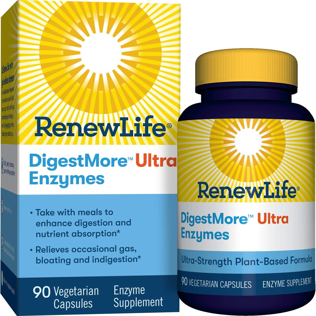 Amazon.com: Renew Life Digestmore Ultra Enzyme suplemento ...