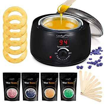 Amazon Com Home Wax Warmer Luckyfine Waxing Kit Hair Removal