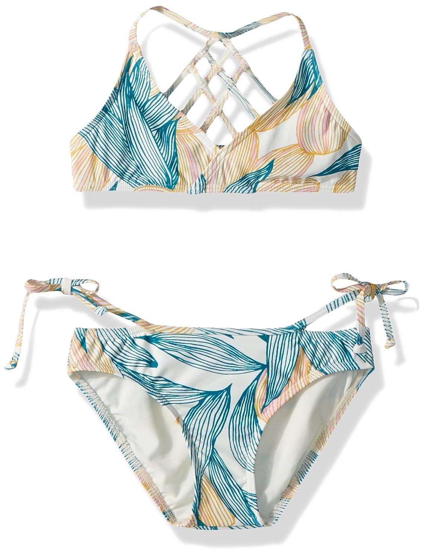 10c2f26dd Amazon.com  O Neill Big Girls  Bethany Strappy Tri Swim Set