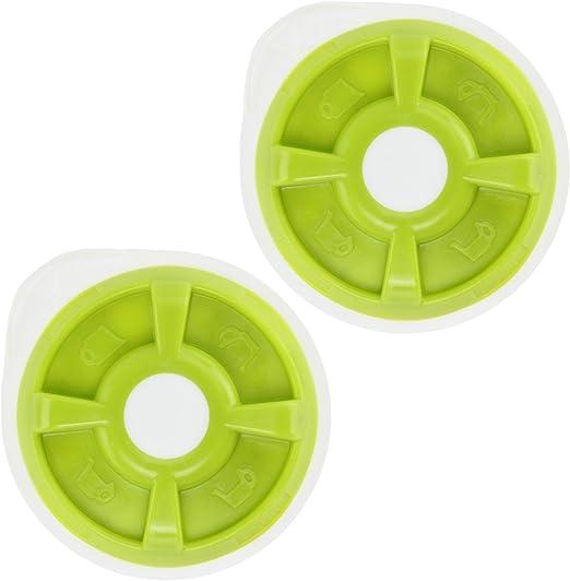Disco de agua caliente verde Spares2go para cafetera Bosch Tassimo ...